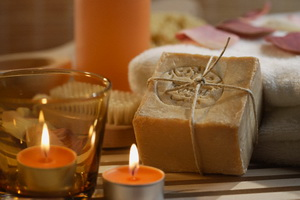 Soap and Tealights